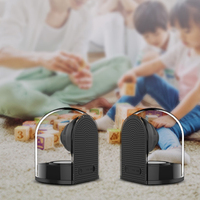 Transparent Magnetic Bluetooth Sound Box Portable Waterproof Wireless Home Office Outdoor Speaker