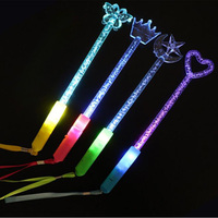 Led Party Rave Glow Sticks for Wedding Colorful Flashing LED Light Stick For Birthday Stick Glow Stick Glow Party Supplies