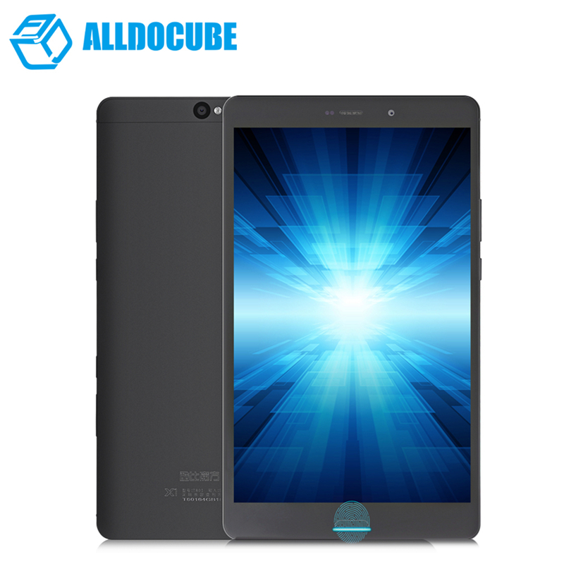 New ALLDOCUBE X1 T801 8.4'' 2.5K IPS Dual 4G Phone Call Tablet PC Helio X20 Deca Core 4GB+64GB Android 7.1 Tablets Fingerprint