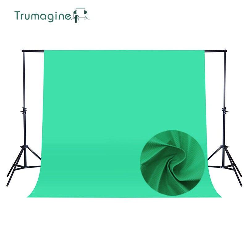 1.6*4M/5.2*13Ft Photo Studio Background Green Screen Photography Backdrop Background Non woven Fabric Chroma Key Backdrops