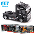 Brand alloy car model Container front Truck toy 1:50 car toy container 4pcs/set Collectible Model Toy Free shipping