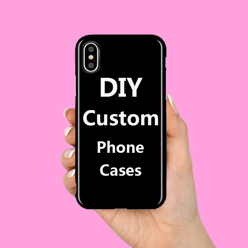 30 PCS Custom DIY Logo Design IMD TPU Case For iPhone XS Max X XR 6