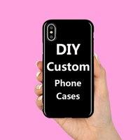 30 PCS Custom DIY Logo Design IMD TPU Case For iPhone XS Max X XR 6 6S 7 8 Plus Samsung Galaxy S10 Plus S10e S8 S9 Plus Note 8 9