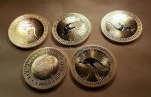 3pcs/lot Free shipping,2016 Australia Silver Kangaroo (1 oz) $1 Coins