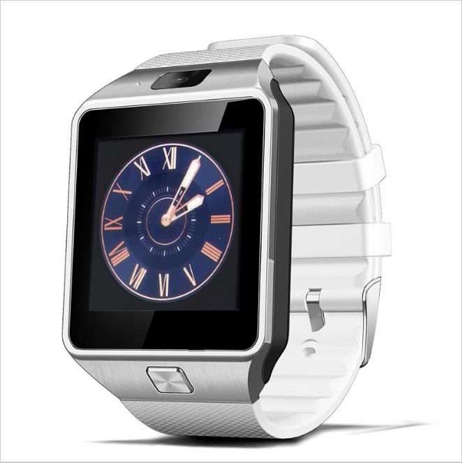 DZ09 Bluetooth Smart Watch with box Men Women Free Shipping for Android Phone Support SIM/TF Card Sport Wristwatch 1