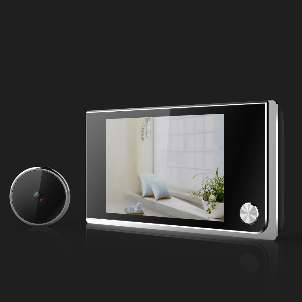 Door Peephole Viewer Doorbell 3.5 Inch HD Digital Multifunction For Home Security SL@88Door Peephole Viewer Doorbell 3.5 Inch HD Digital Multifunction For Home Security SL@88