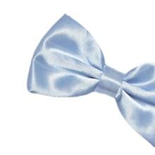 new Mens Solid Color Tuxedo Classic Bowtie Pre Tied Wedding Satin Bow Tie Neckwear