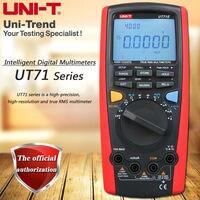 UNI T UT71A UT71B UT71C UT71D UT71E True RMS Смарт Цифровой мультиметр/USB, bluetooth/полный спектр защиты от перегрузки/Подсветка