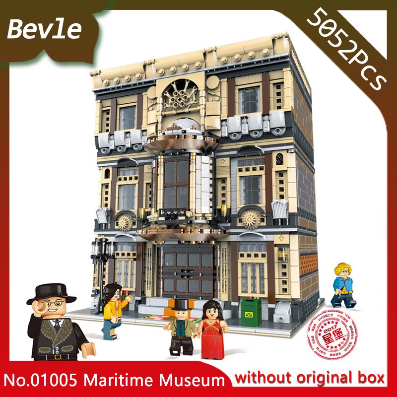 Xingbao 01005 The Maritime Museum Set Children Genuine Creative MOC City Series 5052Pcs Building Blocks Bricks Toys Model Gifts