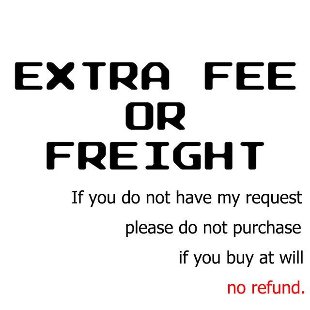 Tarifa adicional/flete si no tienes mi solicitud, no compres, no enviaremos productos