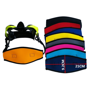 Comfort Scuba Diving Swimming Mask Strap Cover Hair Wrap Band Protector Water Sports SCUBA Snorkeling Gear Equipment Accessories