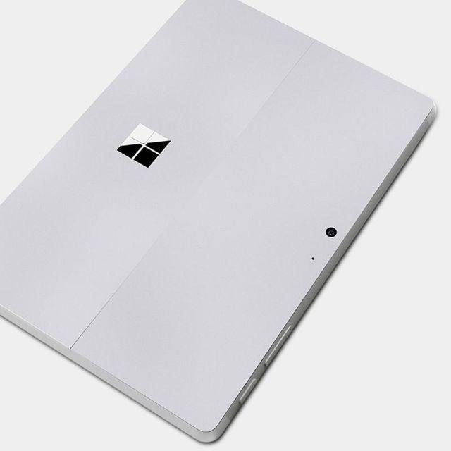 Prata Decalques Tablet Protetor de Tela Tablet Decalque Capa Para Superfície Ir Envoltório Proteger Adesivo Da Pele Para Microsoft Superfície Ir