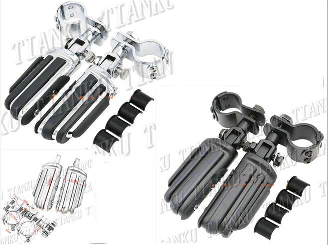 Motorcycle Guard Crash Bar Footrest Foot Pegs For Kawasaki