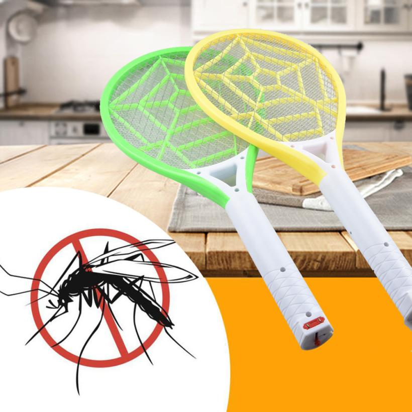 Swatter Bug Fly Electric Rechargeable Zapper-Racket Insect LED 18jun25 Rid Get