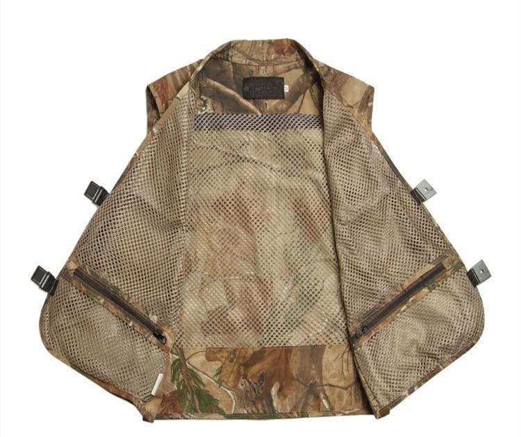 Sport & Unterhaltung Sportbekleidung Beliebte Marke Reed Camouflage Angeln Weste Ente Jagd Hunter Kleidung Kostenloser Versand Klar Und Unverwechselbar