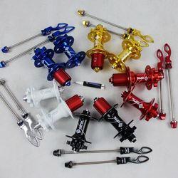Wybrany rower MTB piasta tarczowa 32 otwór hamulec tarczowy do roweru górskiego piasty łożyska przód roweru tył XD QR i Thru Quick Release 5 kolorów
