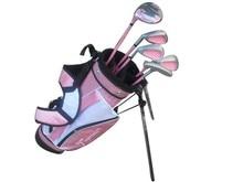 TIGEROAR Quality Goods Left Hand Golf irons driver Club Children Girl Beginner Set Rod 3 Age Group putter wedges left-handed