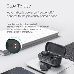 Image 5 - Blitzwolf BW FYE4 bluetooth V5.0 TWS True Wireless Earbuds Earphone HiFi Stereo Sound Bilateral Call bass Inear Headsets