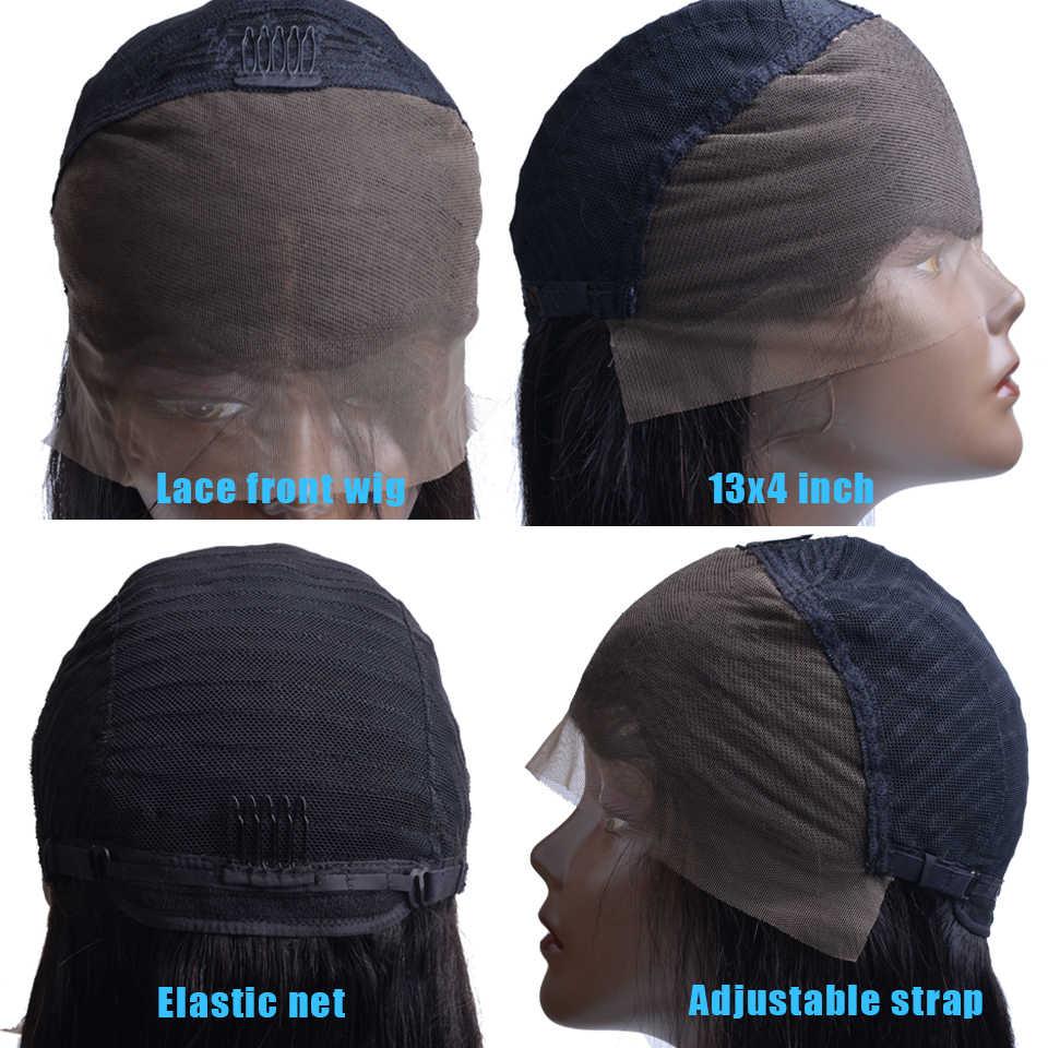 Парики из натуральных волос на кружеве для женщин перуанские Remy человеческие волосы, причёска Боб с прямыми волосами обесцвеченные парики вида шишка-пучок 150% Densty