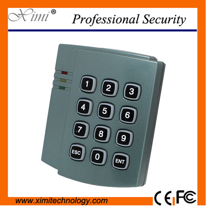 Free shipping 5pcs/lot of proximity 125KHZ EM ID keypad card reader with wiegand 26 interface X006 free shipping rfid reader proximity keypad em id card reader with wiegand26 34 output for access control sn 08f id min 5pcs