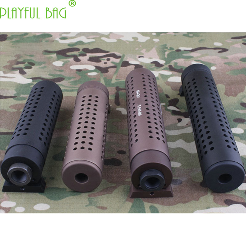 Outdoor Activity CS 14mm Reverse Tooth Cap KACQD M4QD Water Bullet Gun Upgrade Material Muffler Decoration AK105 MI51
