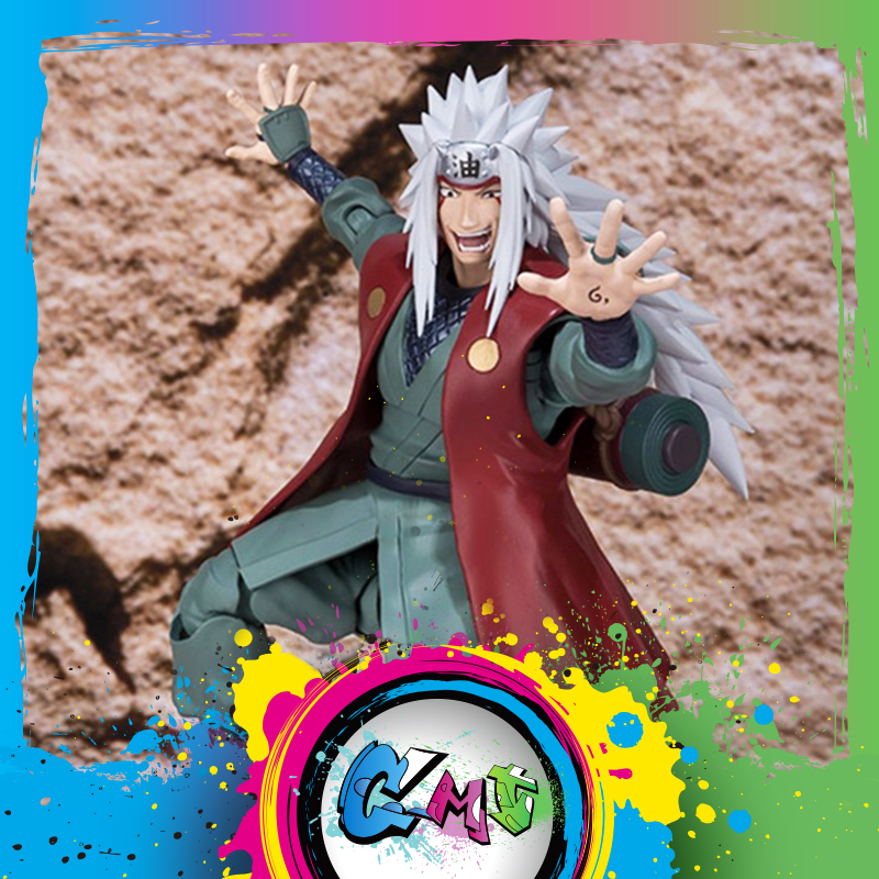 CMT Bandai Origianl Tamashi Nations Naruto S.H.Figuarts SHF Jiraiya Action Figure Anime PVC Toys Figure Collection ModelCMT Bandai Origianl Tamashi Nations Naruto S.H.Figuarts SHF Jiraiya Action Figure Anime PVC Toys Figure Collection Model