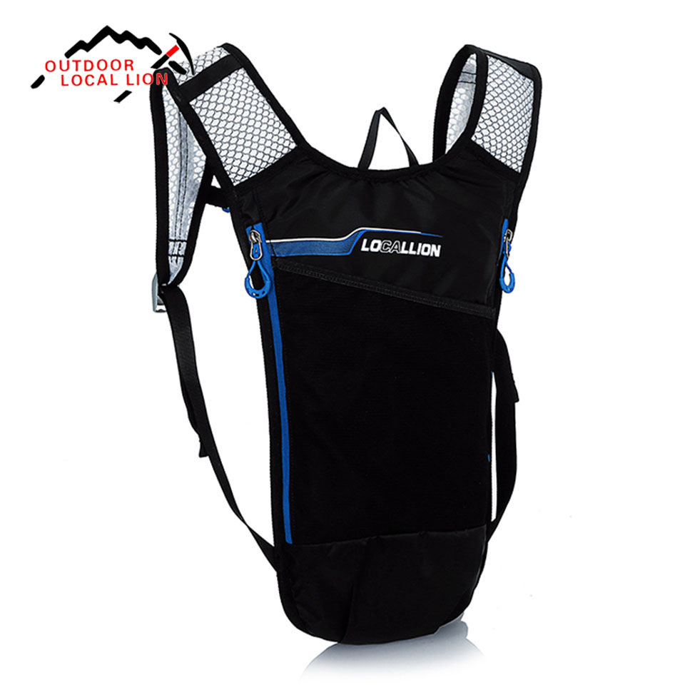 Outdoor Sport Bag LOCAL LION 5L Ultralight Cycling Backpack Hiking Climbing Travel Hydration Mini Bicycle Bags Backpacks