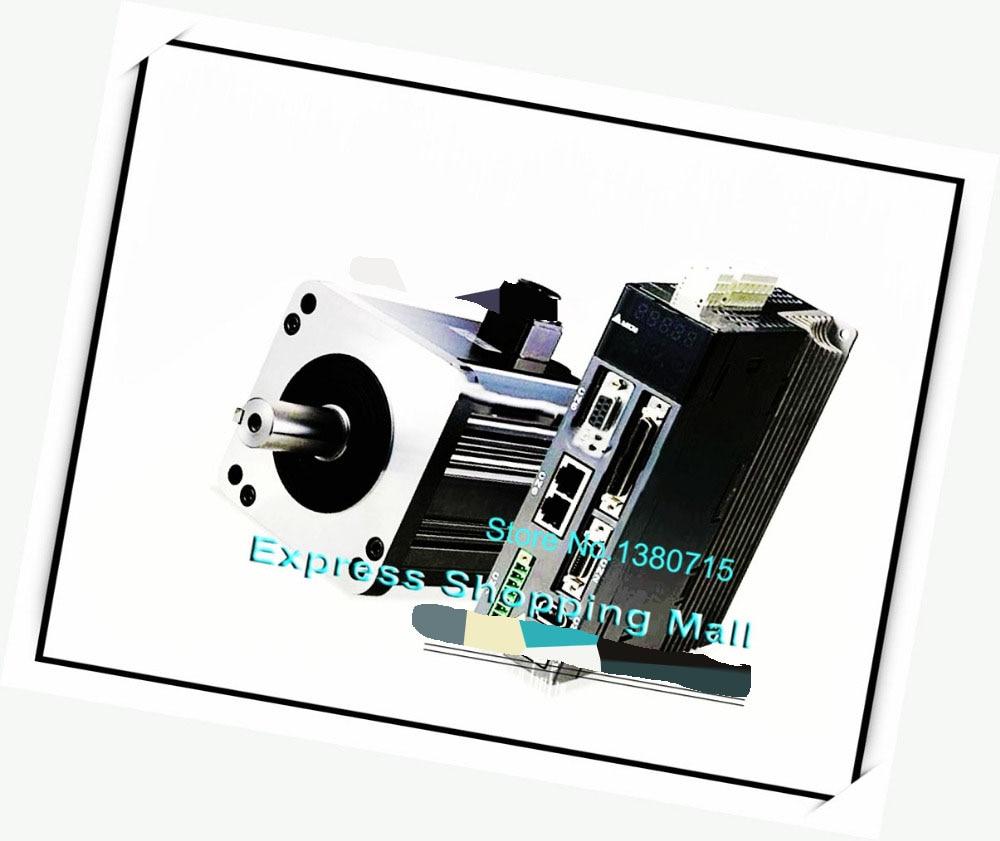 ECMA-C10604RH ASD-A2-0421-M AC Servo Motor & Drive kits 220V 400W 0.4KW 1.27NM 3000r/min new 400w delta ac servo motor and drive with brake and oil seal new asd a2 0421 u ecma g11303ss