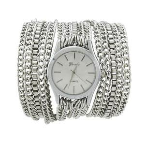 Bracelet Watches Montre Sparkling Femme Silver/gold Fashion Quartz Manual-Link-Chain