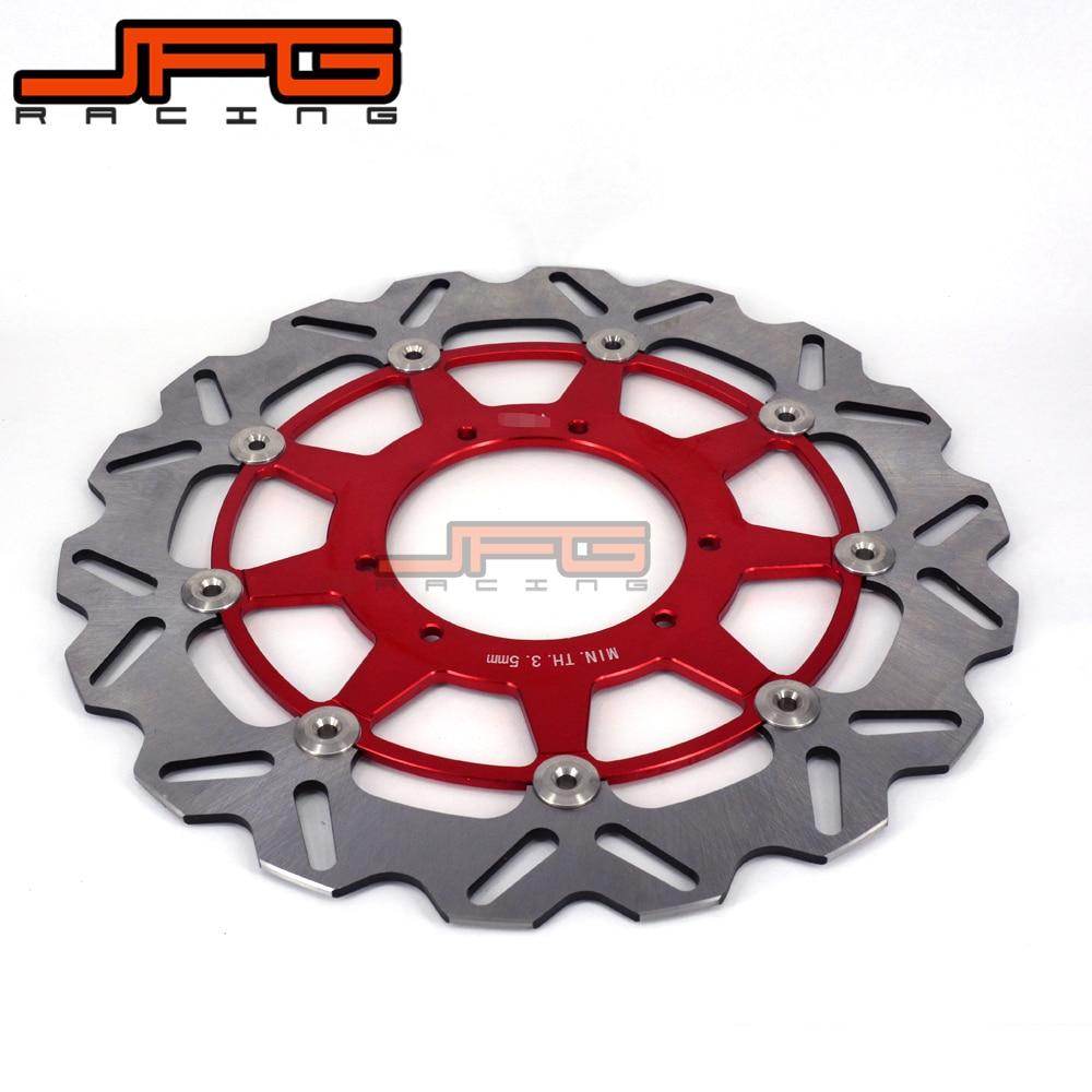 JFG 320MM Oversize Front Floating Brake Disc Rotor For CR CRF CR125 CR250 CR500 CRF250R CRF250X CRF450R CRF450X Motocross Enduro