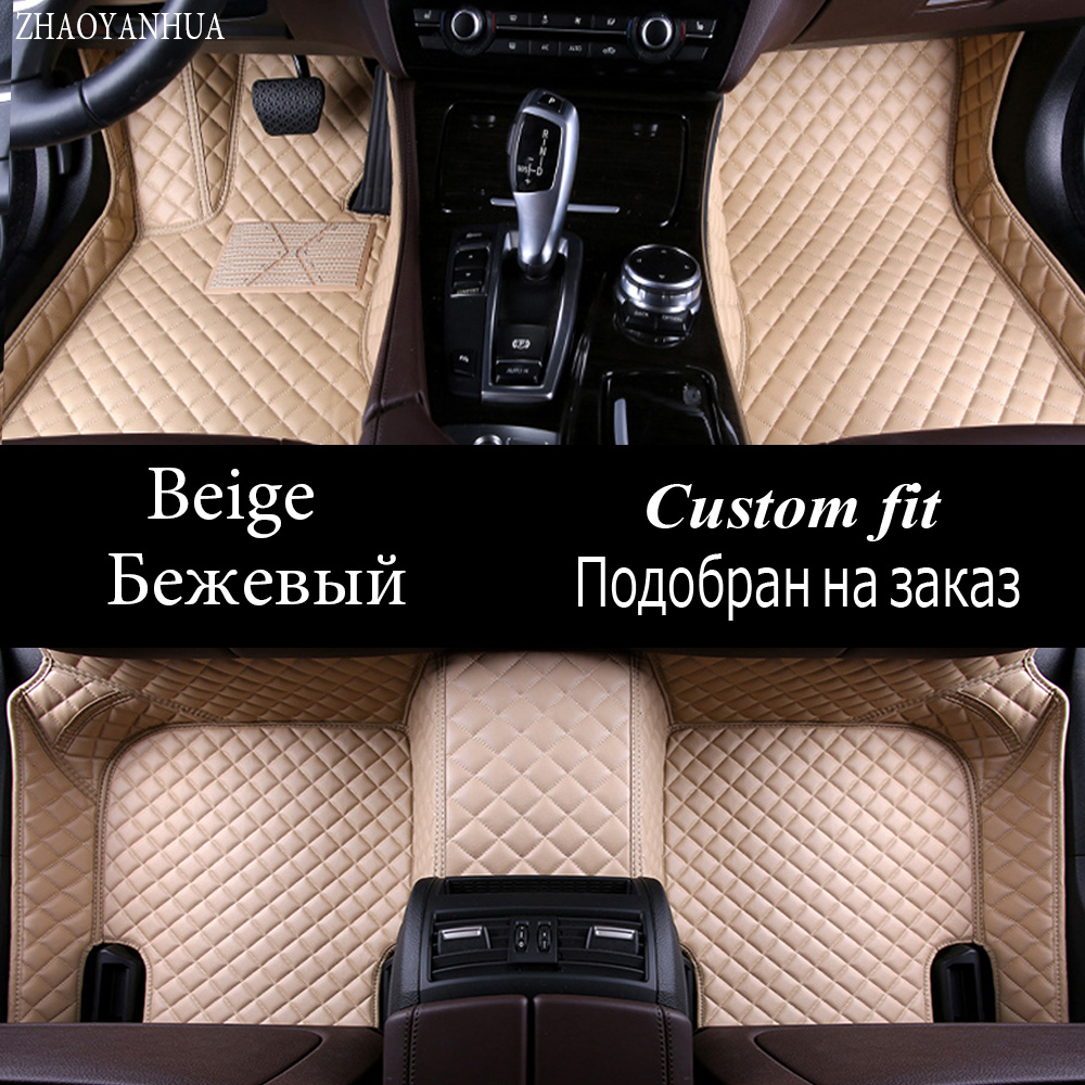 ZHAOYANHUA car floor mats for Lexus NT200 NX200T NX300H F Sport ES 200 250 350 IS GS GX470 LX570 RX RX LS 350 5D carpet rugs