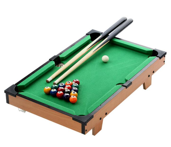 Sport Entertainment Indoor Board Game Pool Mini Wooden Snook Billiards Table  Fun Game Leisure Sports Toy