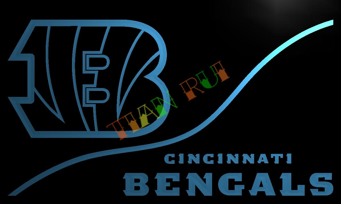 ld504 cincinnati bengals led neon light sign home decor craftschina mainland