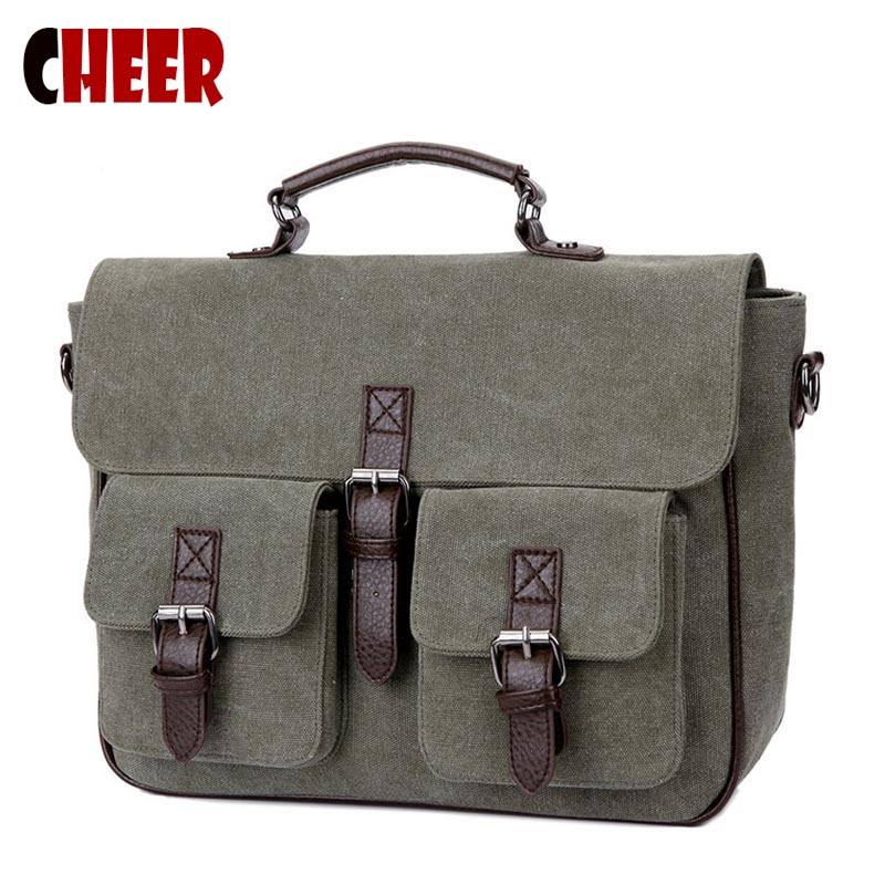 NEW Canvas Handbag Men shoulder Messenger bags Casual Business Briefcase Laptop bag Teenagers Designer student Crossbody bag jacodel business large crossbody 15 6 inch laptop briefcase for men handbag for notebook 15 laptop bag shoulder bag for student