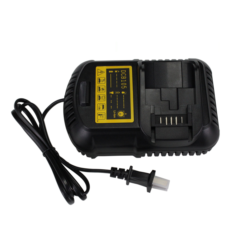 High-quality! Power Tool Battery Fast Chargers DCB105 for Dewalt 12V~20V MAX Li-ion batteries new replacement power tool battery chargers for bosch 14 4v 18v li ion lithium battery high quality