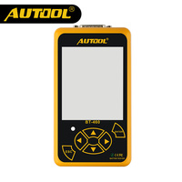 AUTOOL BT460 Car Battery Tester 12V 24V Heavy Duty Colorful Display Multi Languages Cell Test Car