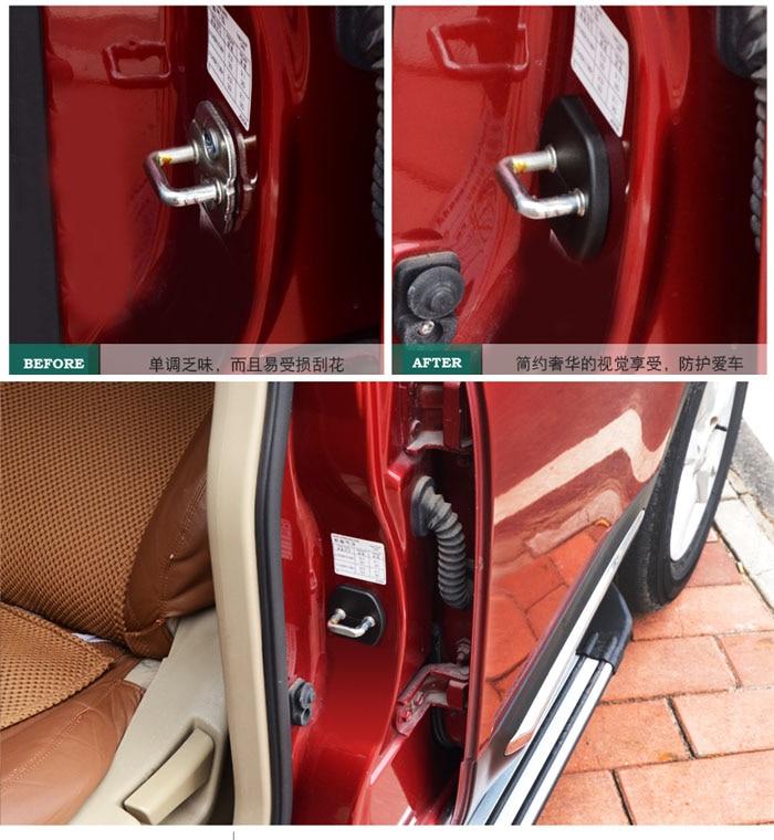Yunc для Nissan Versa Tiida солнечное сильфи Livina Teana Latio дверной замок крышка стопор защитный чехол крышка наклейка Пряжка чехлы