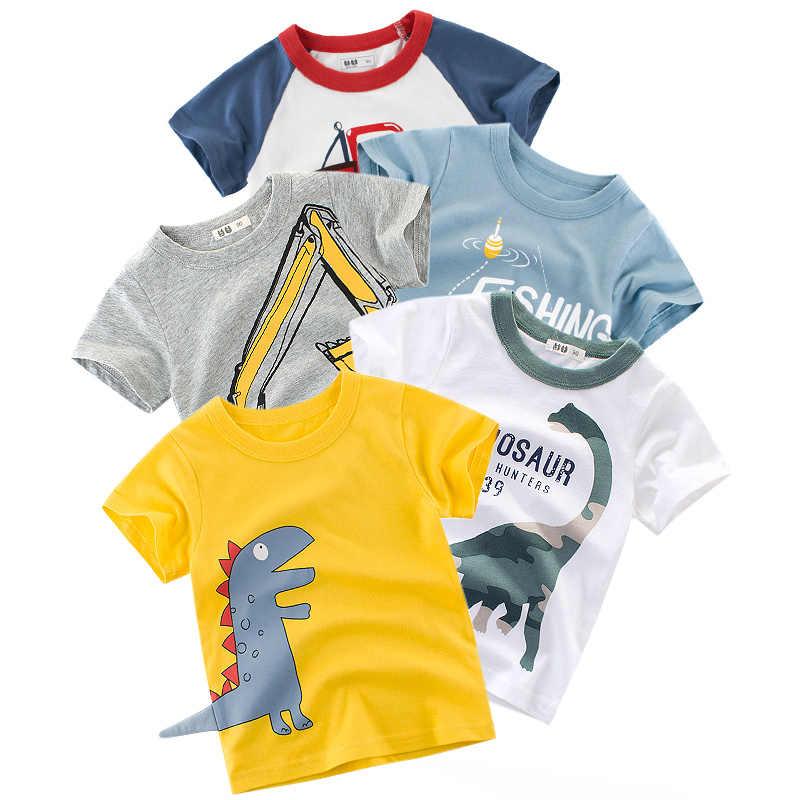 Kinderen T-shirt Kinderen Voor Jongens Een Jongen Meisjes Kinderen Kid 'S Shirts Kind Baby Peuter Katoen Cartoon Tee Tops kleding Korte