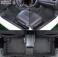 Хорошее качество! Специальный автомобиль коврики для новых Honda Civic 2018 2016 водонепроницаемые Нескользящие ковры для Civic 2017, бесплатная доставк