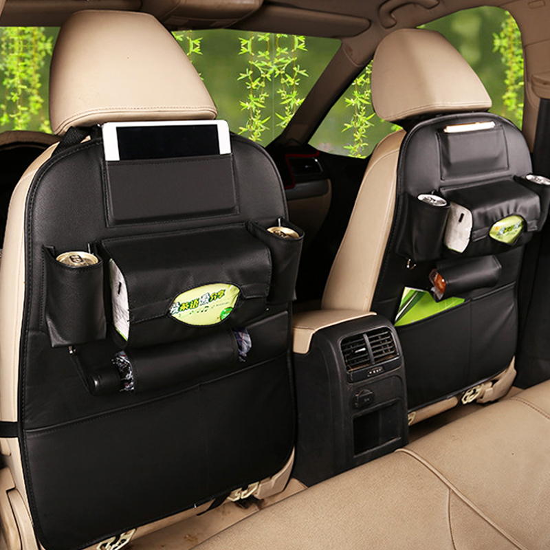 2017 New Car seat storage bag Hanging bags car seat back bag Car product Multifunction vehicle storage storage box freeshipping