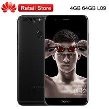 "Globale Huawei Ehre V9 L09 Handy 5,7 ""4 GB RAM 64 GB ROM 2 Karat 5.0-zoll-screen-kirin 960 Octa-core Android 7.0 NFC OTG Infrarot-fernbedienung"
