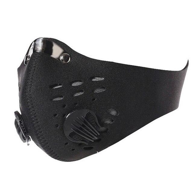 quality Bike Mask Ski Helmet racing balaclava Super Anti Dust Motorcycle Bicycle Cycling Racing Bike Ski Half Face Mask Filter 5