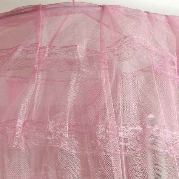 60*250*850cm Elegan Round Renda Serangga Bed Kanopi Kelambu Tirai Dome Mosquito Net Rumah Baru Seprai dekorasi Produk Musim Panas 5