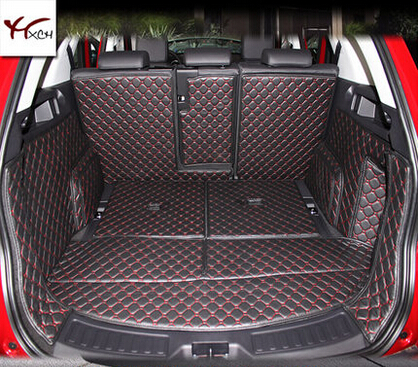 Good! Special trunk mats for Land Rover Discovery Sport 7seats 2016-2014 Easy to clean waterproof boot carpets,Free shipping