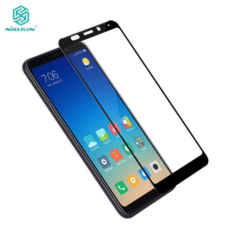 Xiaomi Redmi 5 Plus Tempered Glass Redmi 5 Plus Glass Nillkin CP+ 2.5D Full Cover Screen Protector For Xiaomi Redmi 5Plus