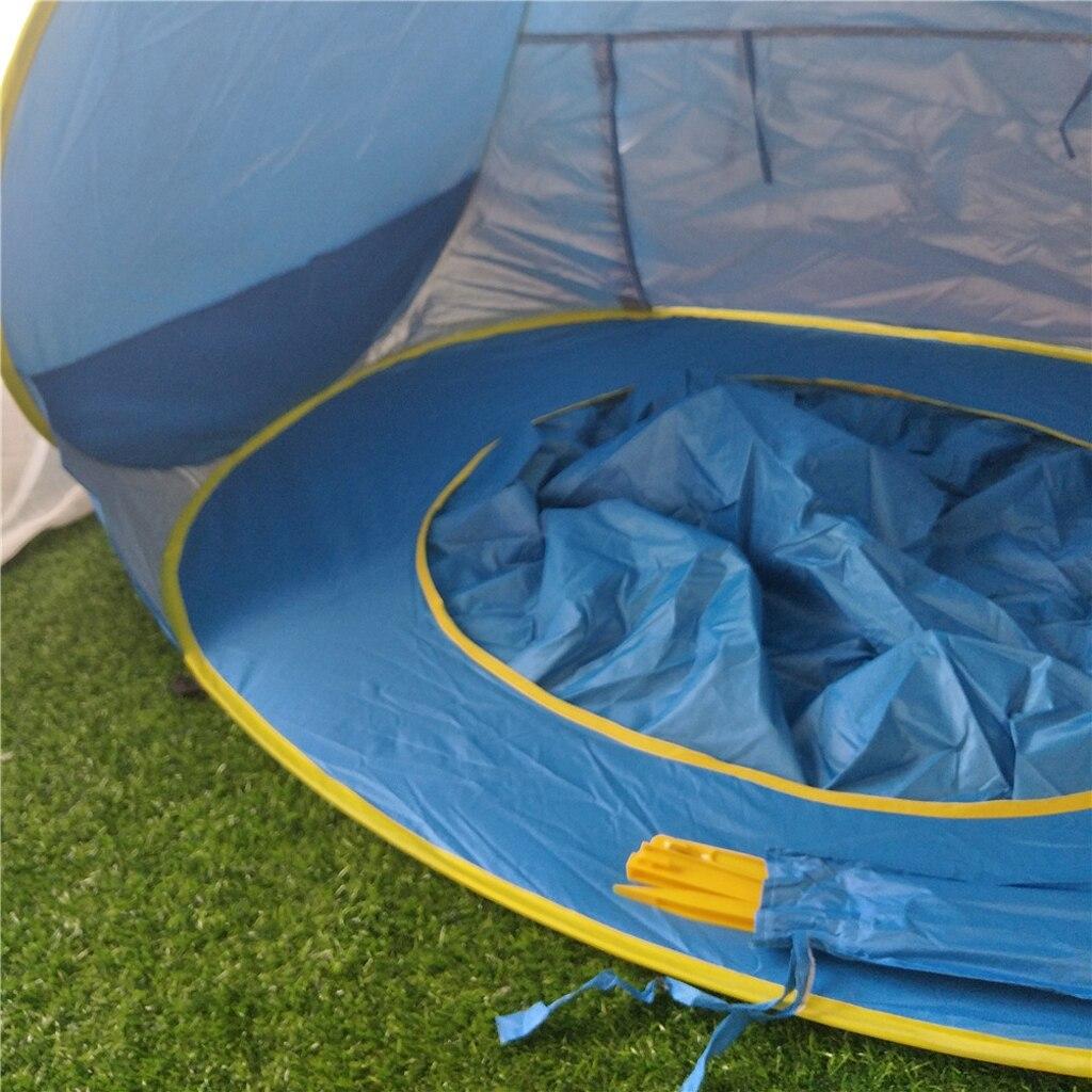 Baby Strand Zelt Pop Up Schatten Pool Baldachin Sun Shelter Kid Spielhaus UV