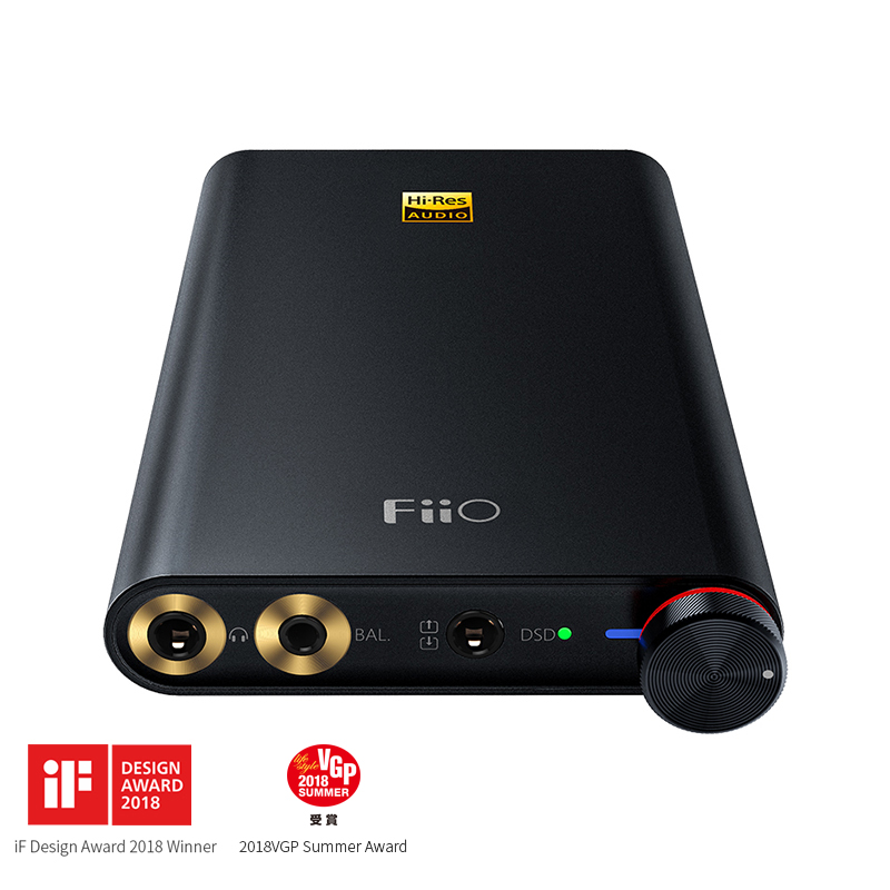 FiiO natif DSD USB DAC/amplificateur Q1 MKII pour Apple iPhone iPad, FiiO DAC Ampifiler pour Android/ordinateur/Sony/Xiaomi-in Casque Amplificateur from Electronique    1