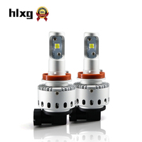 2017 Upgrade Car Styling H11 LED Car Headlight Bulb All In One CSP CHIPS 8000LM 40W
