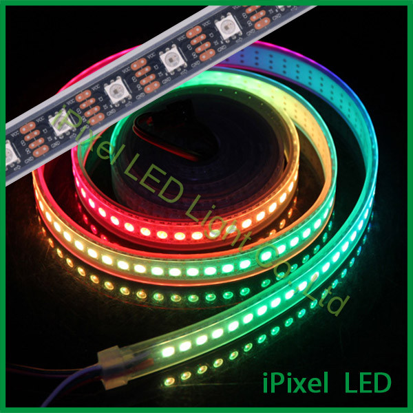 scott 5v 5050 digital pixel strips APA102 ic led full rgb- color lighting ...