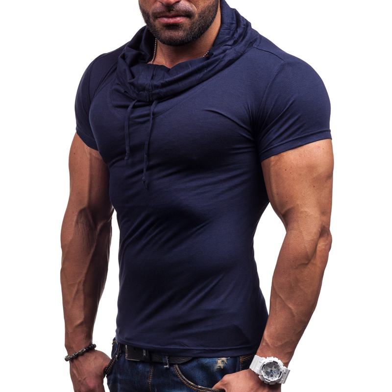 9bb9adc18e9 2019 New Summer fashion Men clothes Slim Fit Men short Sleeve polo shirt men  pure color